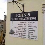 Our new weather forecasting system !